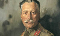 Sir Douglas Haig portrait by William Orpen in 1917.