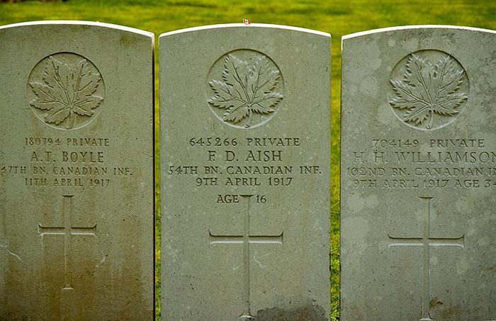 Vimy Ridge Cemetery