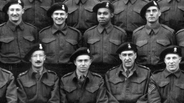 A Squadron of the Sherbrooke Fusilier Regiment in the UK before D-Day