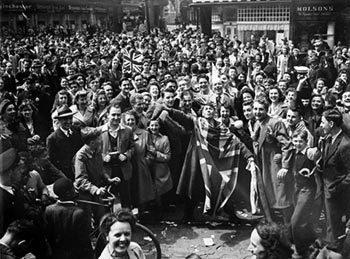 VE Day Celebrations in Montreal