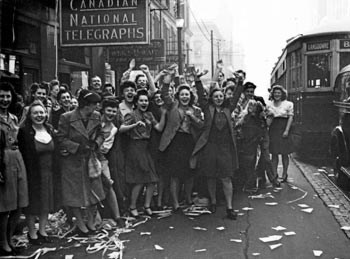 VE Day Celebrations in Toronto